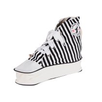Sneaker Bag (black, striped)