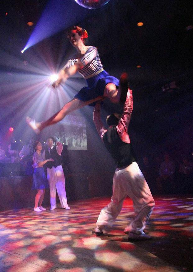 Dancers Adrienne & Rafal