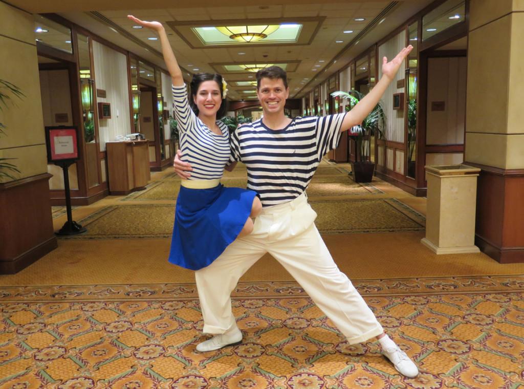 Dancers Ben & Lily