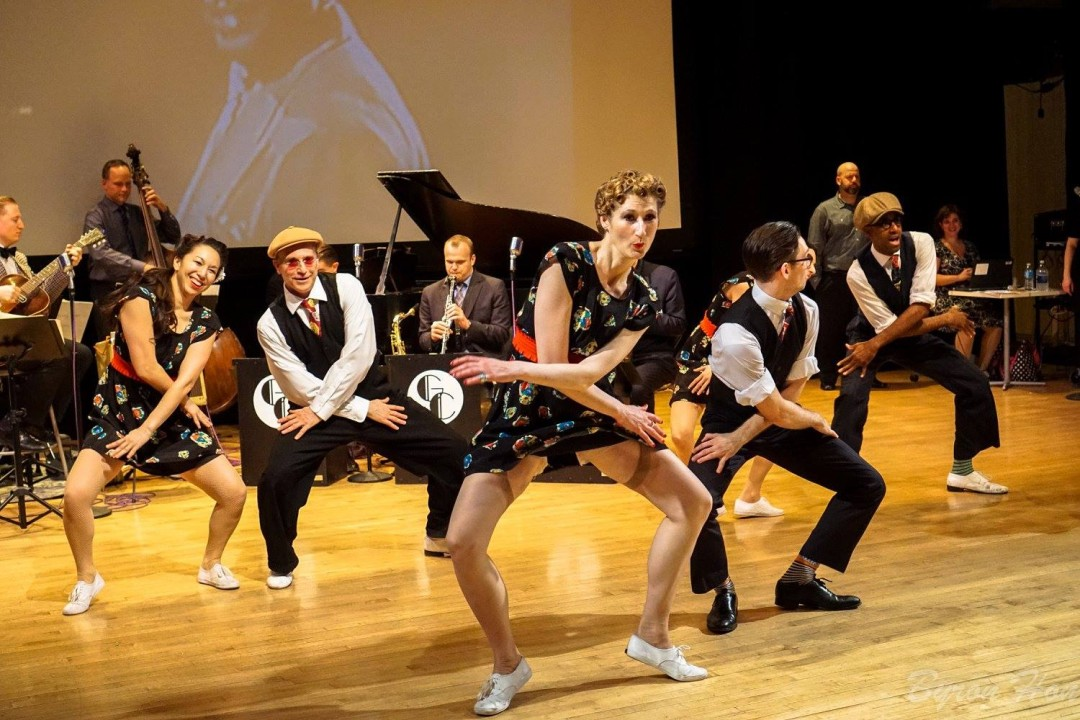 Rhythm Stompers perform Clamjammer