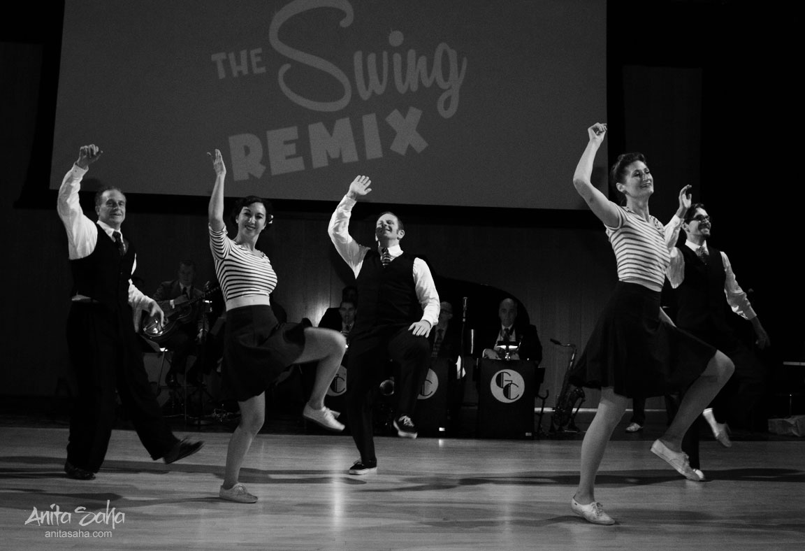 The Rhythm Stompers at Swing Remix