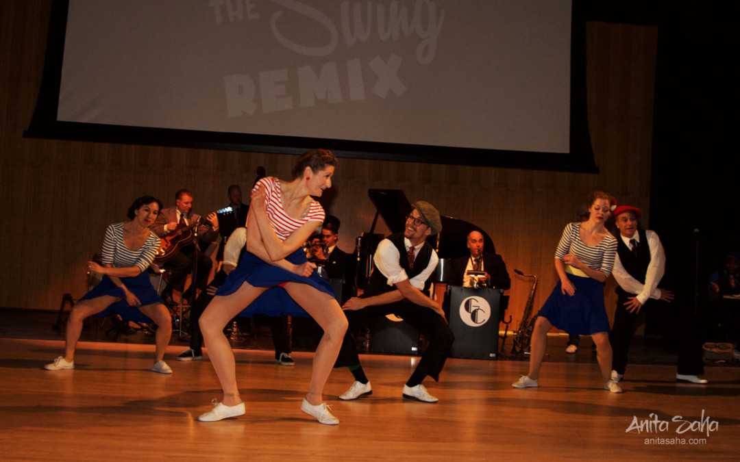 Rhythm Stompers routine LIVE with Band