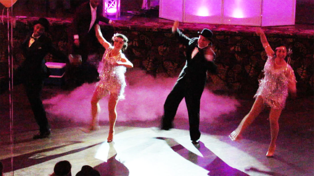 On The Dancefloor at The Great Gatsby New Year's Eve