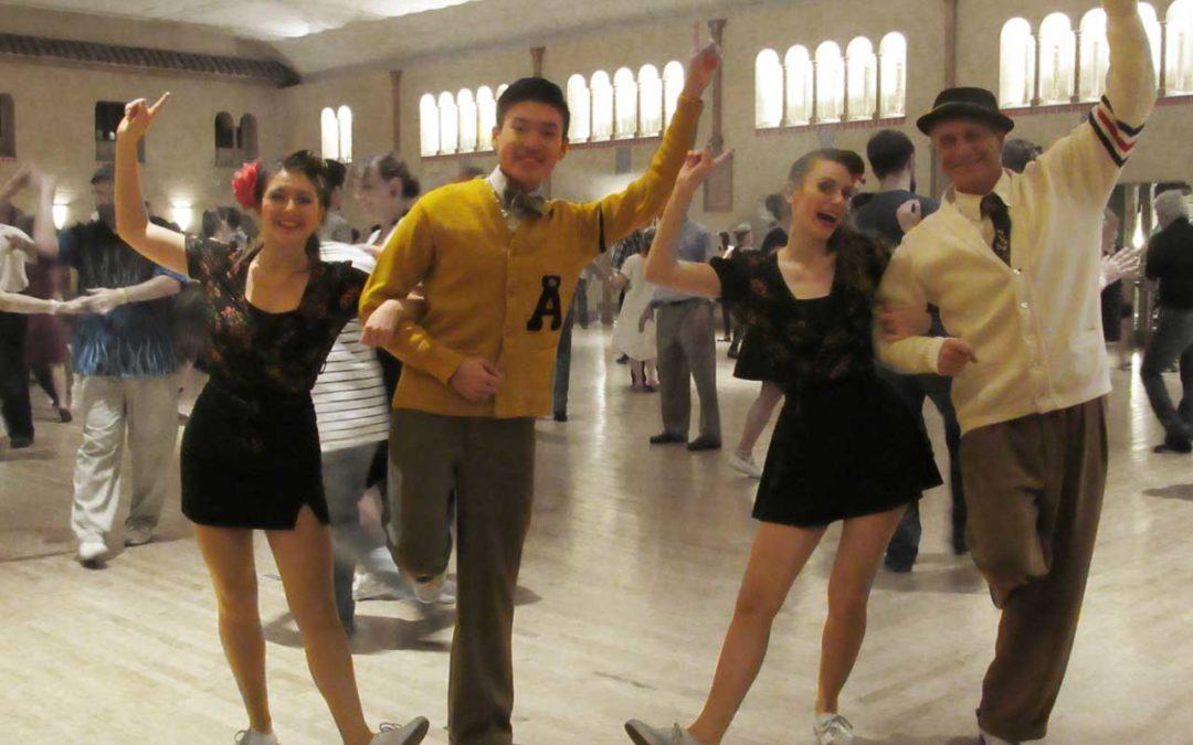 Collegiate Shag at Glenn Echo's Spanish Ballroom