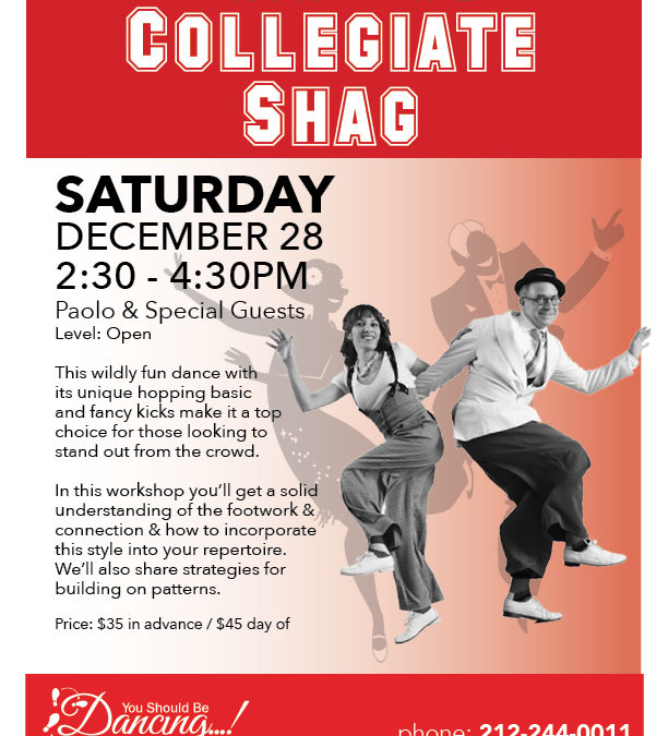 Collegiate Shag Workshop