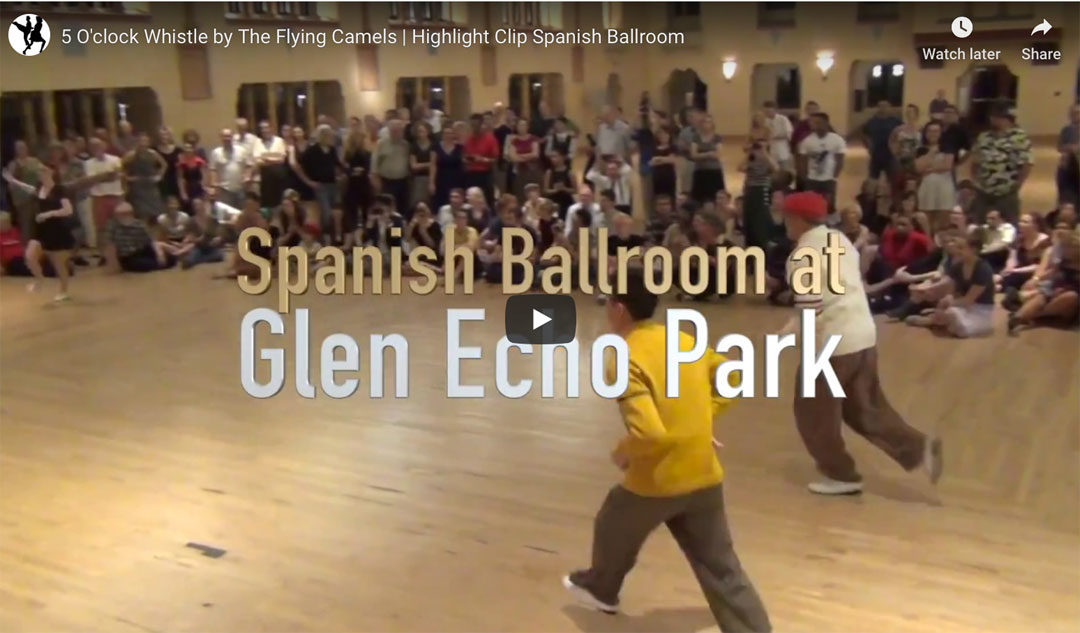 Flying Camels at The Spanish Ballroom